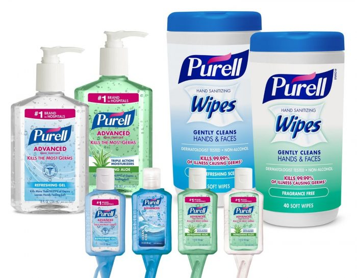 PURELL Hand Sanitizing Kit
