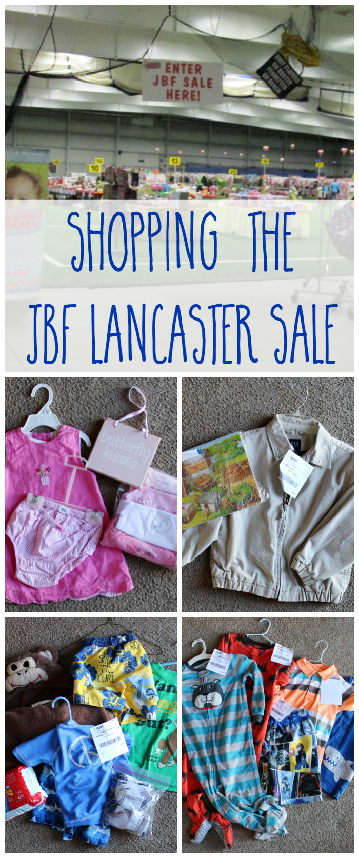 Shopping at the JBFLancaster Sale - I love shopping consignment! Check out the great deals we got at the Just Between Friends sale in Lancaster!