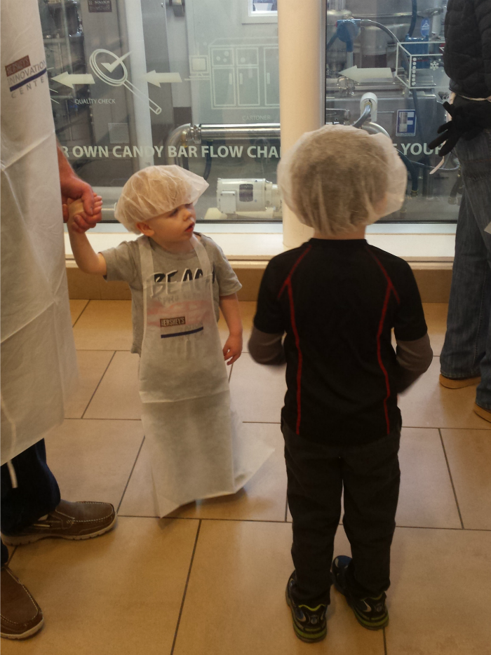 Aprons and Hair Nets for Make Your Own Candy Bar