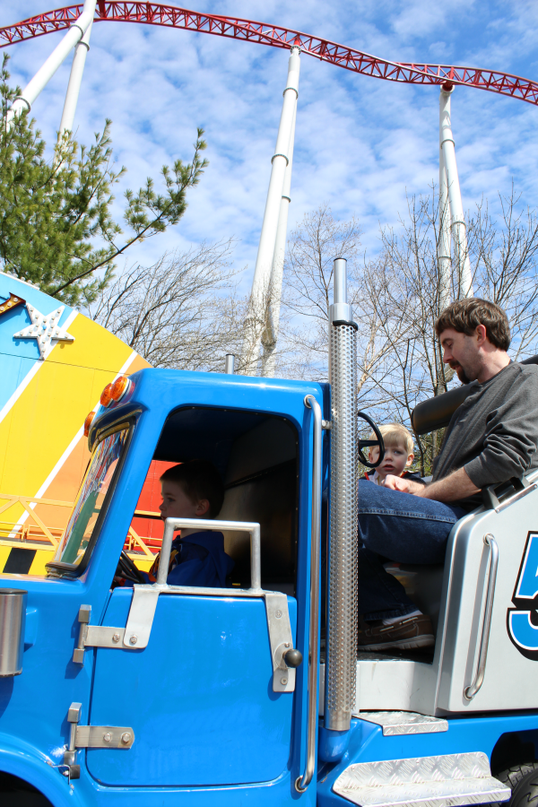 Convoy ride at Hersheypark
