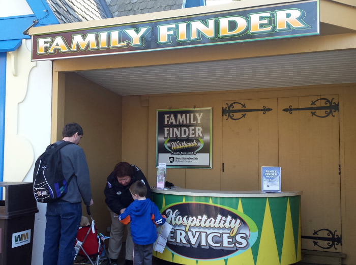 Family Finder at Hersheypark
