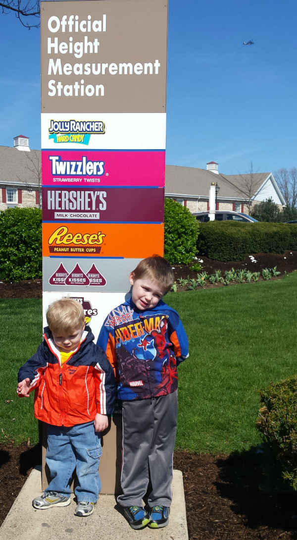 Height Measurement Station for Hersheypark