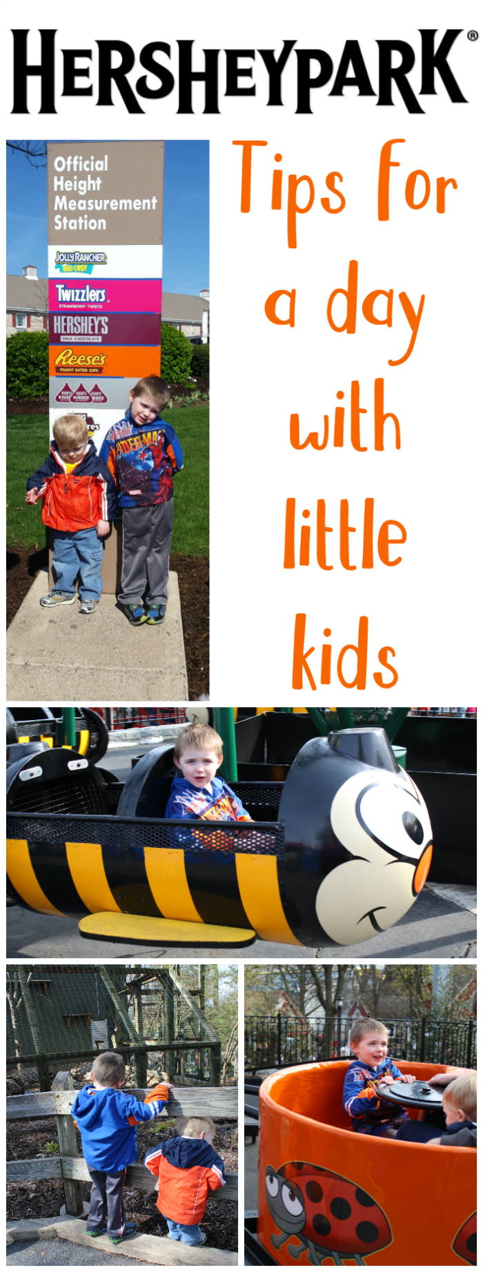 Hersheypark has plenty for little kids to ride and enjoy! Be sure to check out some of our tips for your visit with little ones.