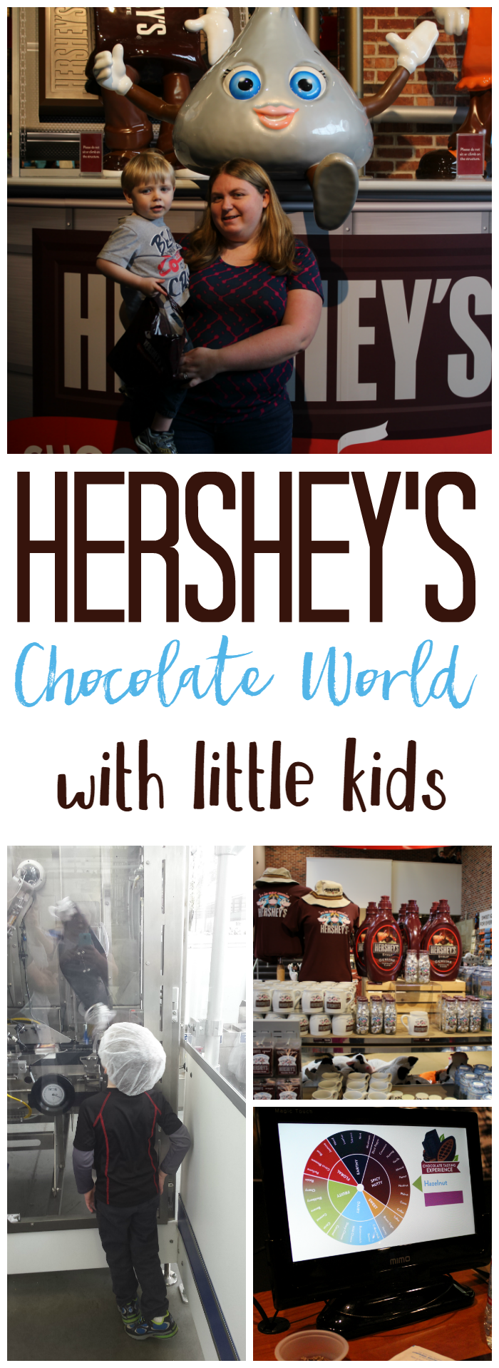 Hershey's Chocolate World is a must-see stop while in Hershey, PA! And it's great for the little kids, too!