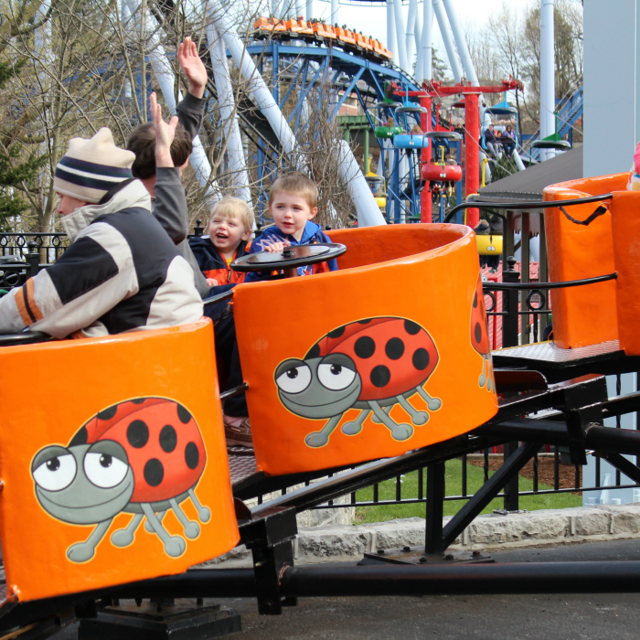 "With over 30 fun-filled rides, Duke's Lagoon water play area, and live entertainment, Dutch Wonderland is the place ""Where Kids RULE!"" Our Pennsylvania theme park is designed for families with young children in mind and offers a host of fun things to see and do."