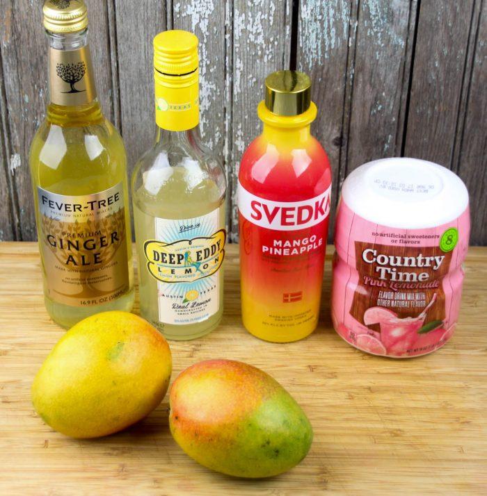 Mango Pink Lemonade with Gingerbeer-1