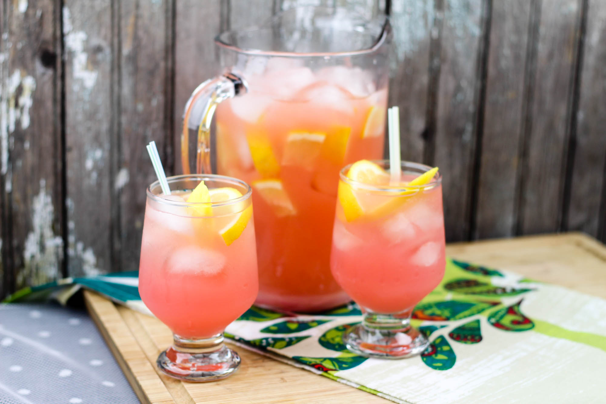 Mango Pink Lemonade with Gingerbeer - Mom's Messy Miracles