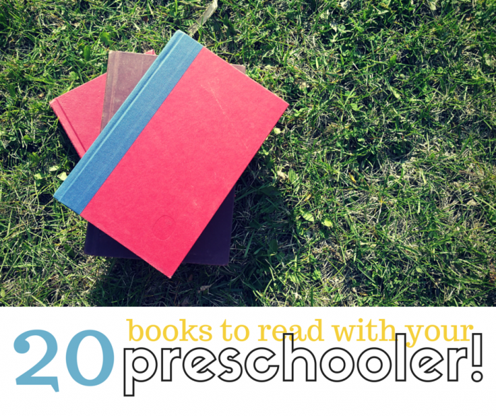 Summer Reading List for Preschooler