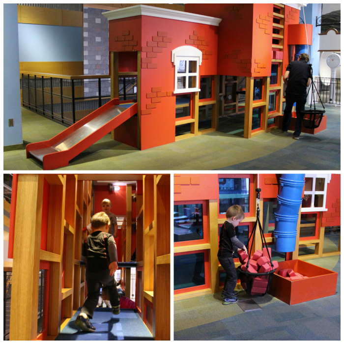 Whitaker Center Building in KidsPlace