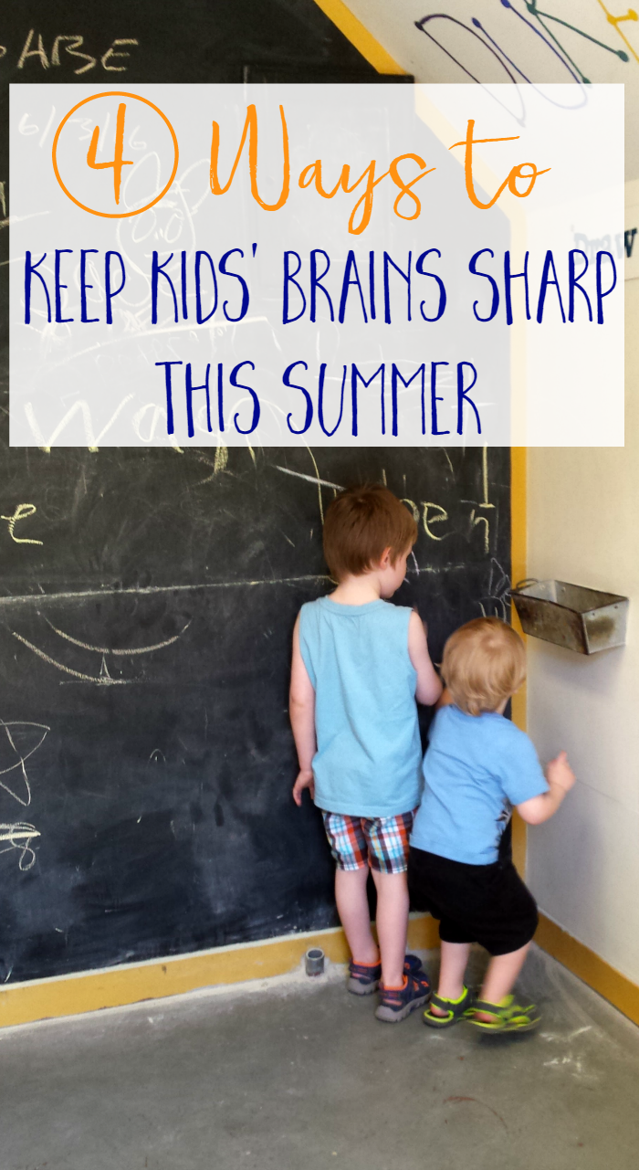 4 Ways to Keep Kids' Brains Sharp This Summer