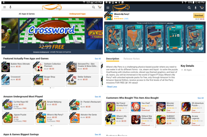 Amazon Underground for Actually Free Apps
