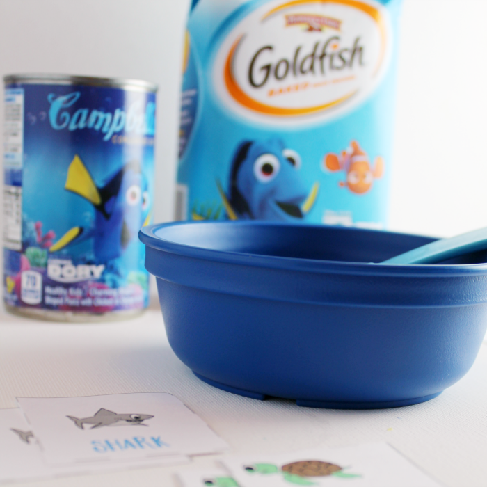 Finding Dory Goldfish & Soup