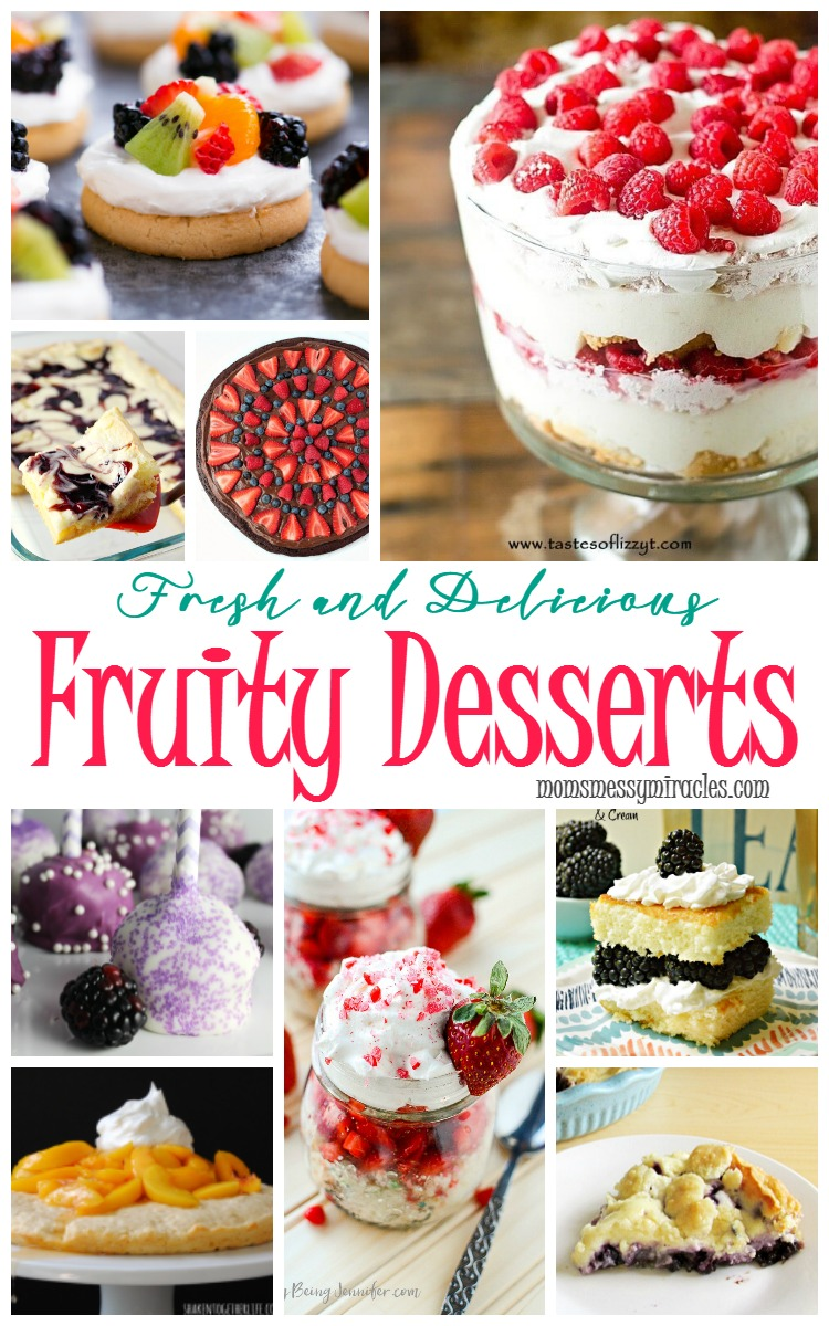 Check out these 20 fresh and delicious fruity desserts!