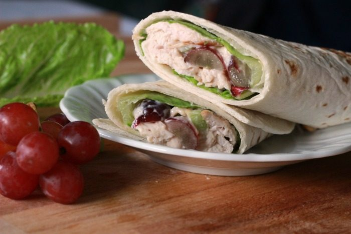 Grilled-Chicken-Salad-Wrap