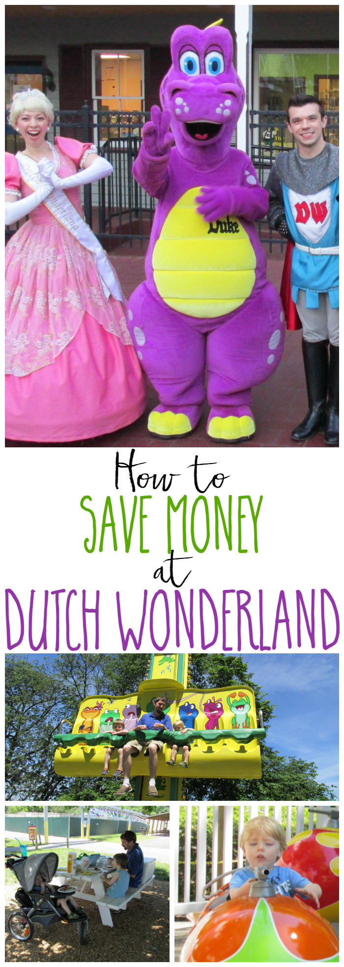 How to Save Money at Dutch Wonderland - Check out these tips on how to save money on your family fun adventure to Dutch Wonderland.