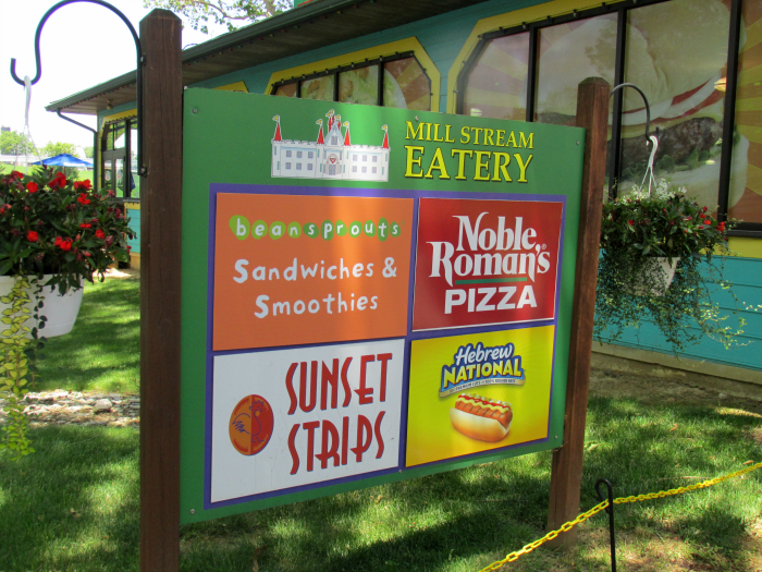 Mill Stream Eatery at Dutch Wonderland