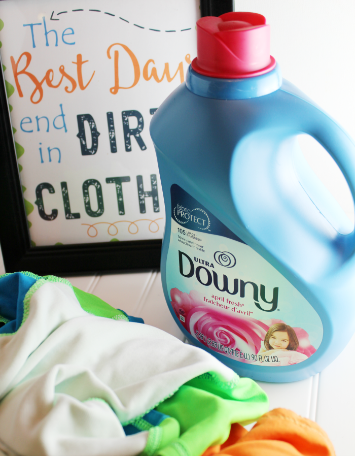 Ultra Downy Fabric Conditioner for Dirty Clothes