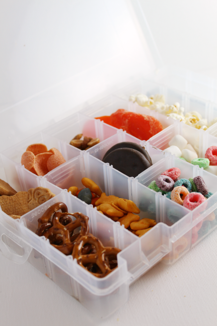 tackle box for snacks