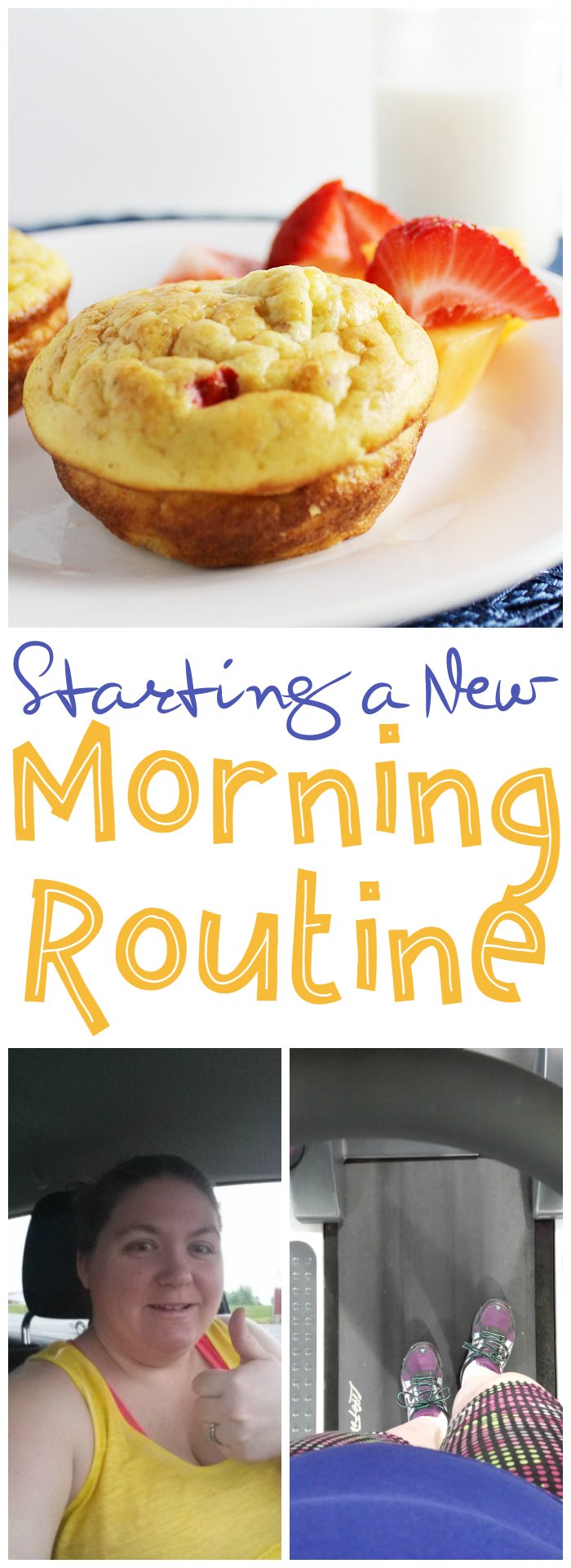 Starting a new routine is definitely a challenge, especially if it's a morning routine. My new morning routine consists of hitting the gym, eating a wholesome breakfast, and starting my day productively.