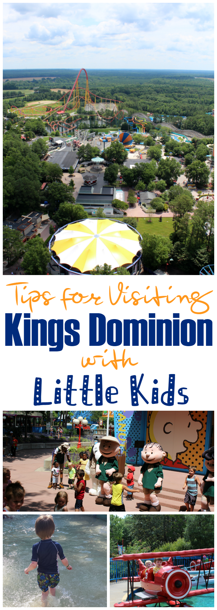 Tips for Visiting Kings Dominion with Little Kids - Visiting amusement parks with little kids can be exhausting, but we have tips for visiting Kings Dominion that will make sure you all have a great time!