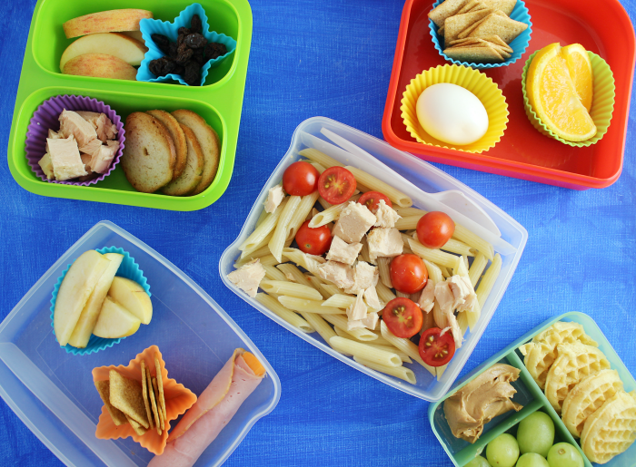 5 non-sandwich lunches
