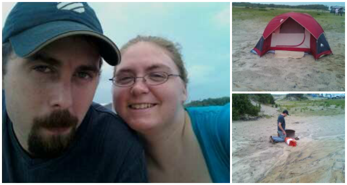 Camping at Assateague