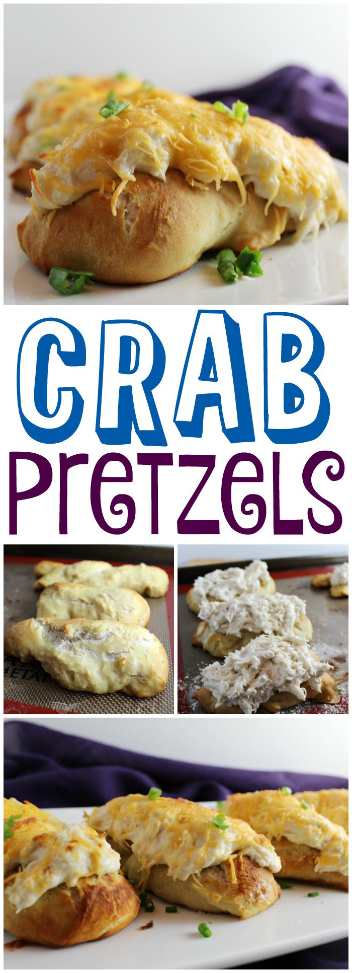 Crab Pretzels