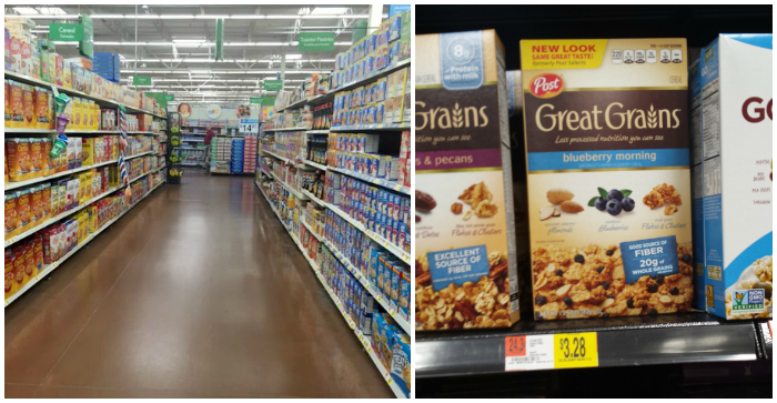 Great Grains Cereal at Walmart