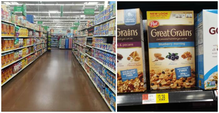 Great Grains Cereal at Walmart