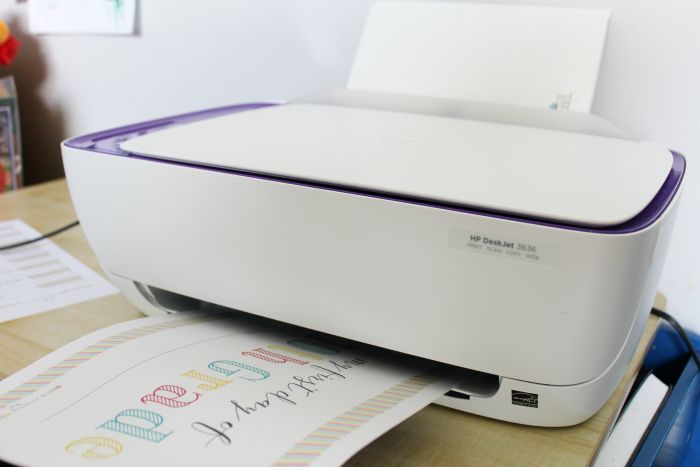 HP DeskJet 3636 printer