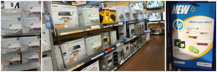 HP Printers at Walmart