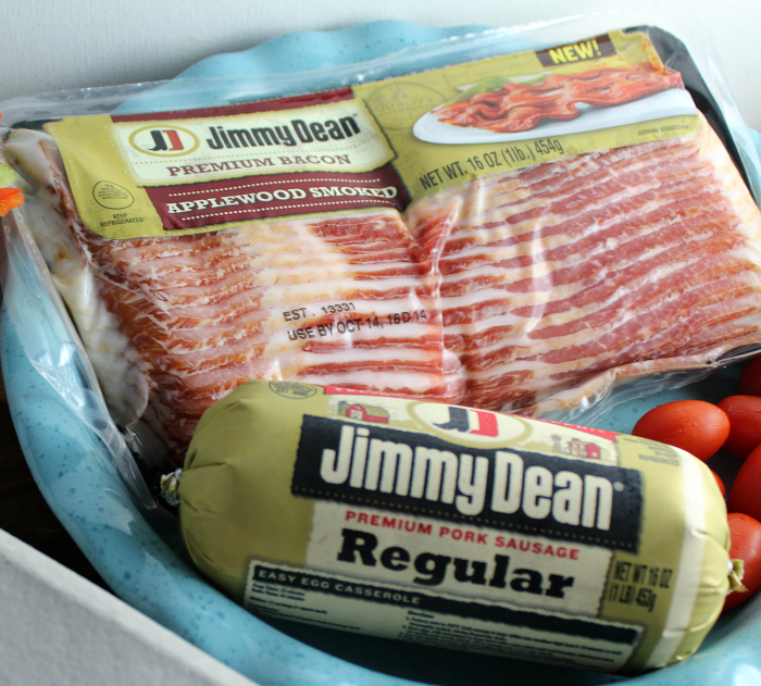 Jimmy Dean Bacon and Sausage