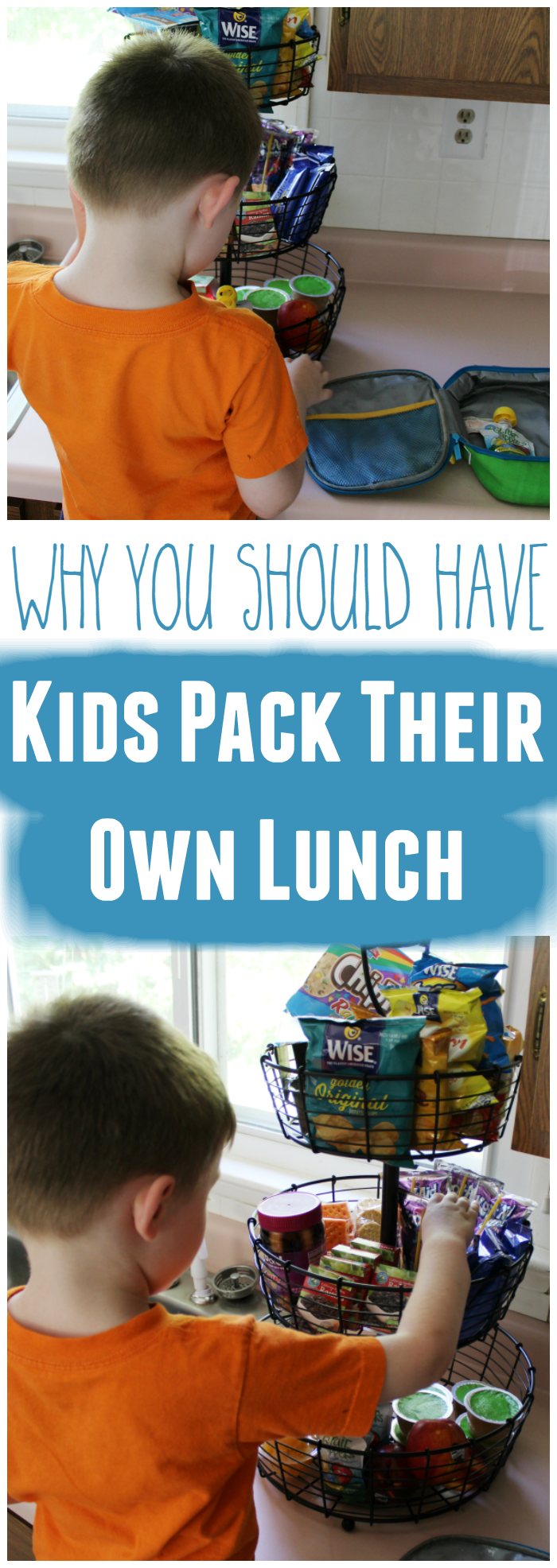 Kids Should Pack Their Own Lunch