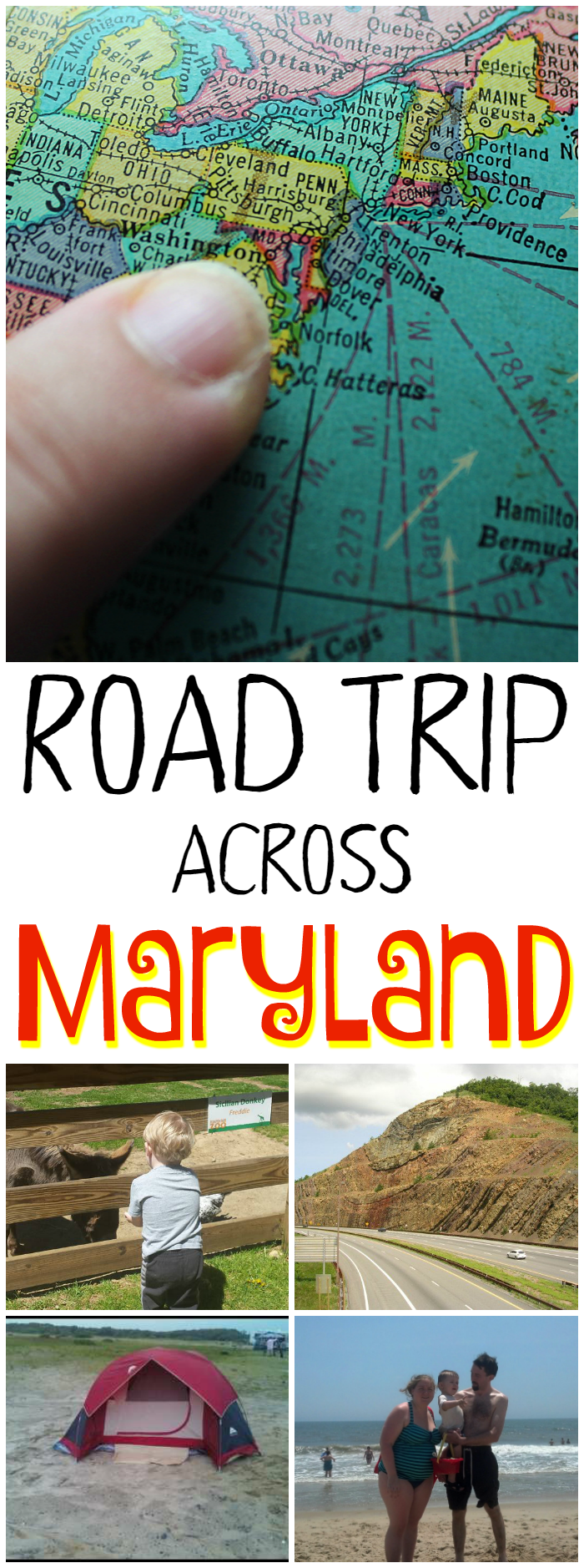 Road Trip Across Maryland - Take a road trip across Maryland for all kinds of family fun! Beaches, history, delicious seafood, adventure, and more!
