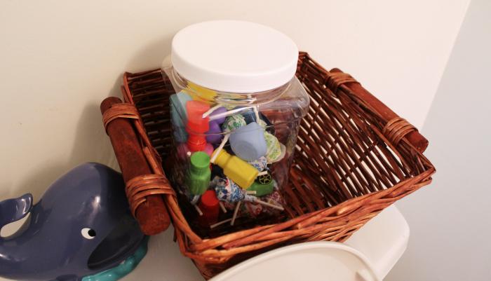 Potty Training Reward Jar