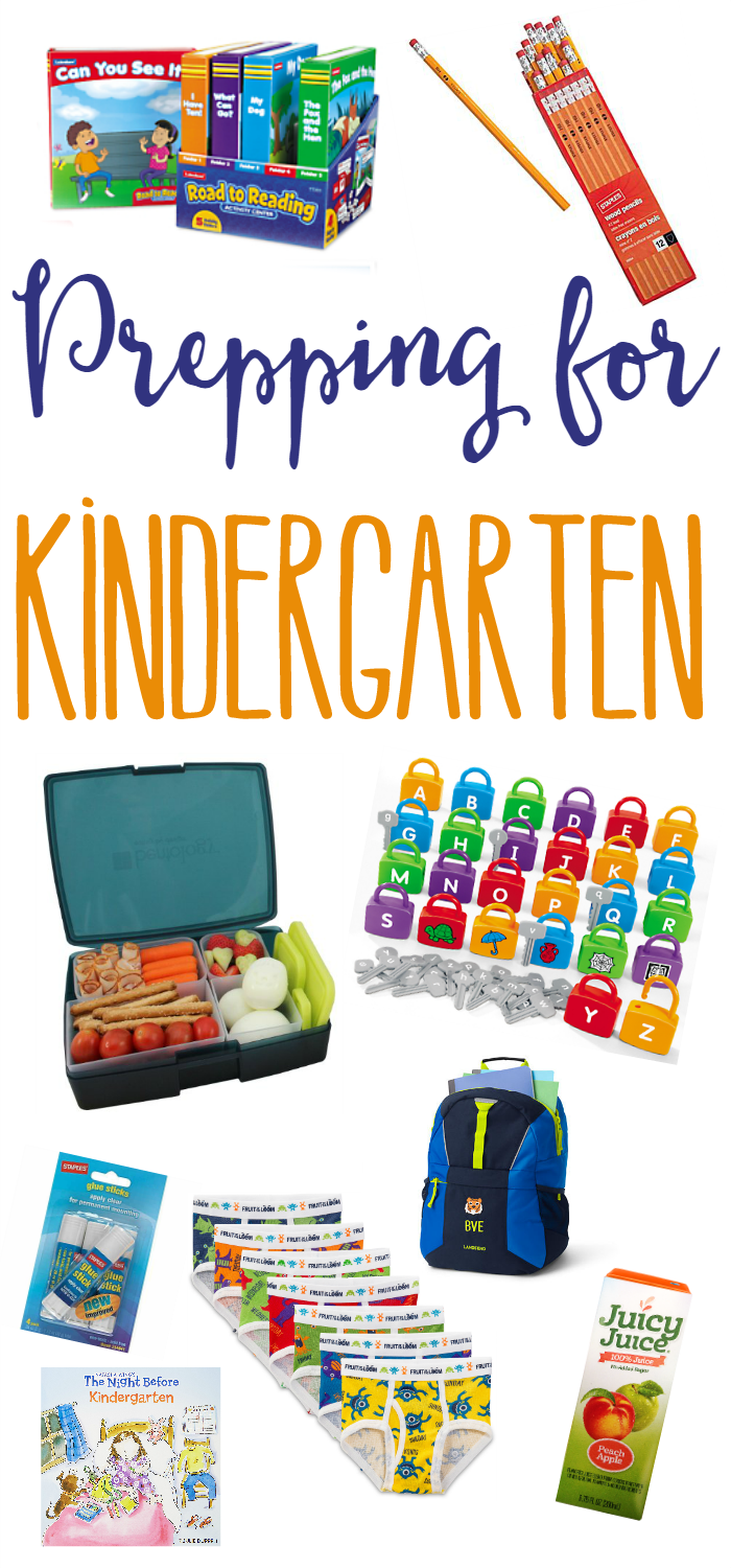 We're sharing some of the things we did to prep for Kindergarten! Including back to school lists and summer fun!