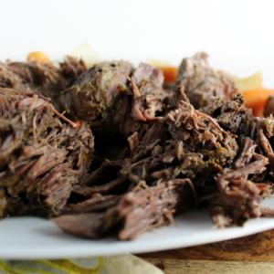 The Best Slow Cooker Beef Roast