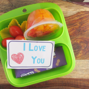 Printable Lunch Notes for Little Kids