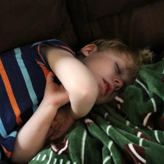 sick-sleeping-kid