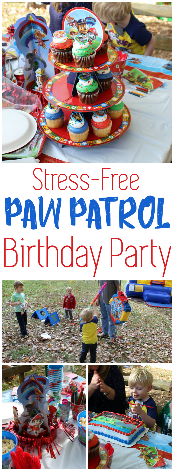 Throw your kid a great Paw Patrol birthday party without stressing yourself out!