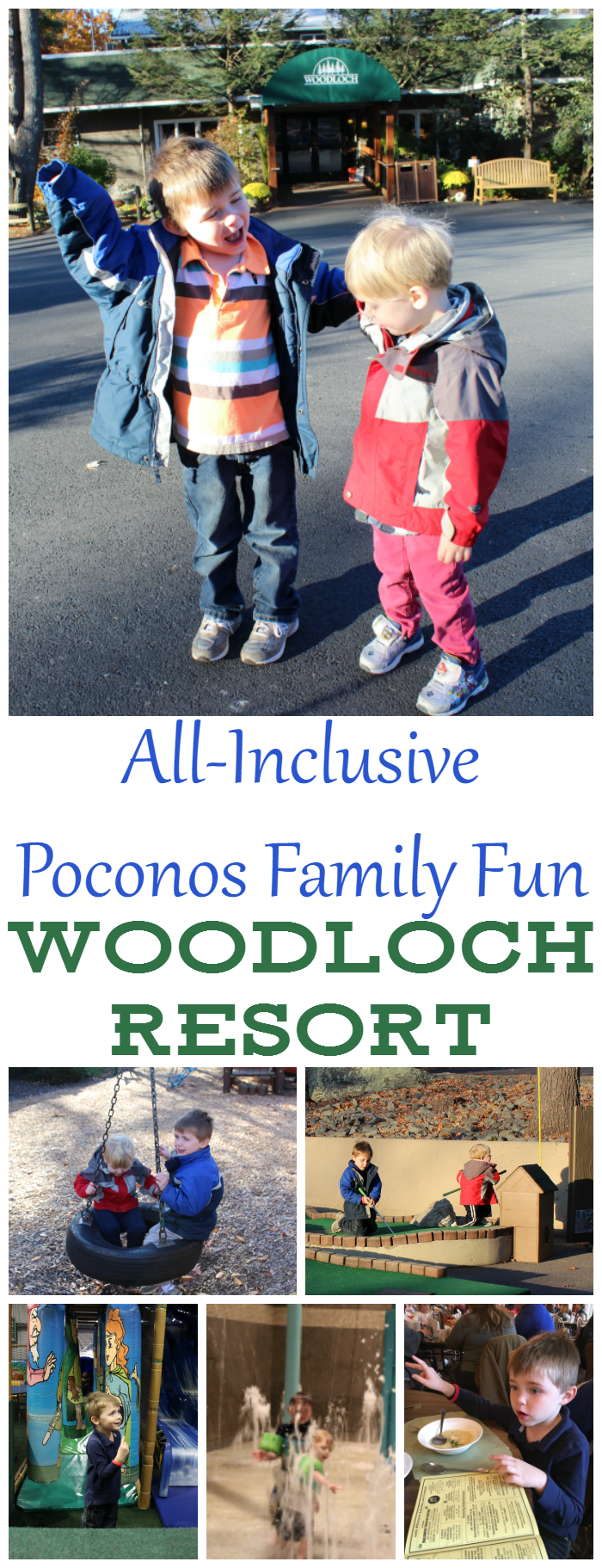 All-Inclusive Poconos Family Fun at Woodloch Resort!