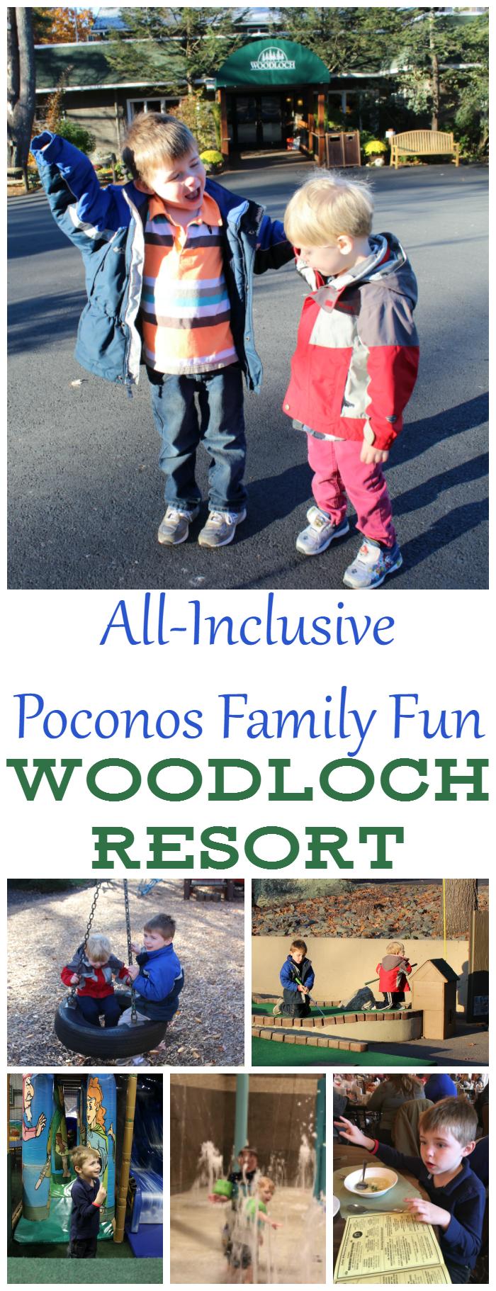 All-Inclusive Poconos Family Fun at Woodloch Resort!