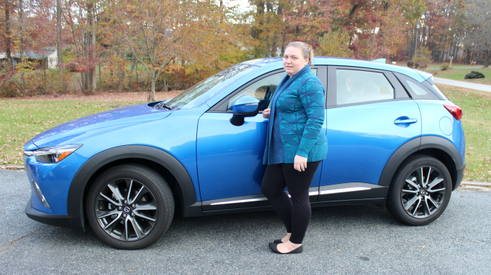 Actually I M A Chief Judge Which Is Super Cool When Got Home From The Election Last Month Found This Beautiful 2017 Mazda Cx 3 Grand Touring Awd