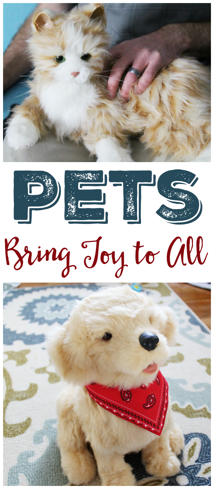 The Joy for All Companion Pet is a great way to bring joy to loved-ones without all the work of a real pet!