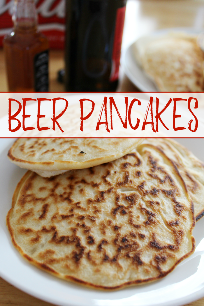 These beer pancakes are Netflix and husband-approved!