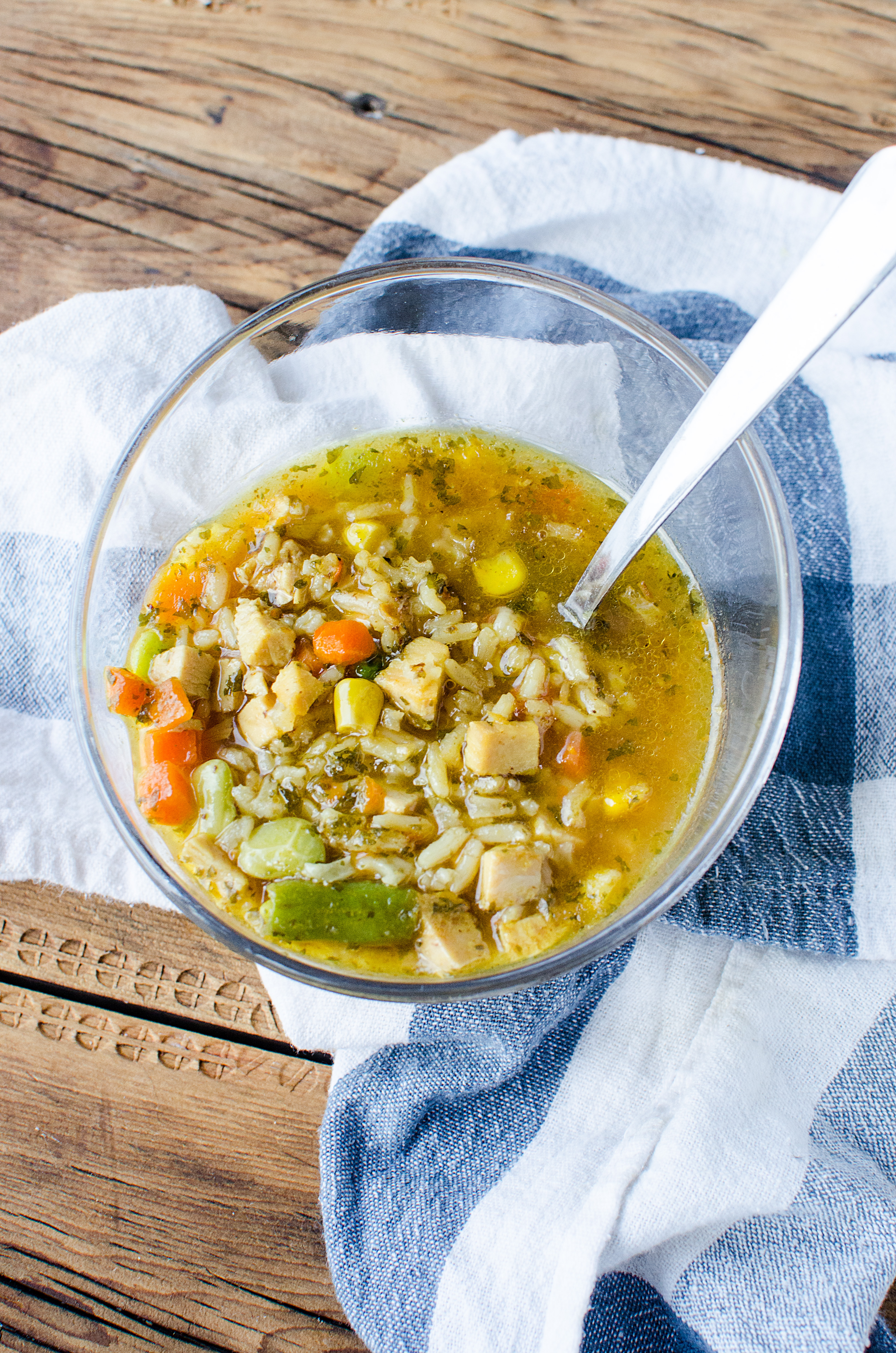 This Curry Turkey and Rice Soup brings a little something different to the table, while giving you that comfort food we so often need.
