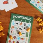 Free Printable Football Bingo Game