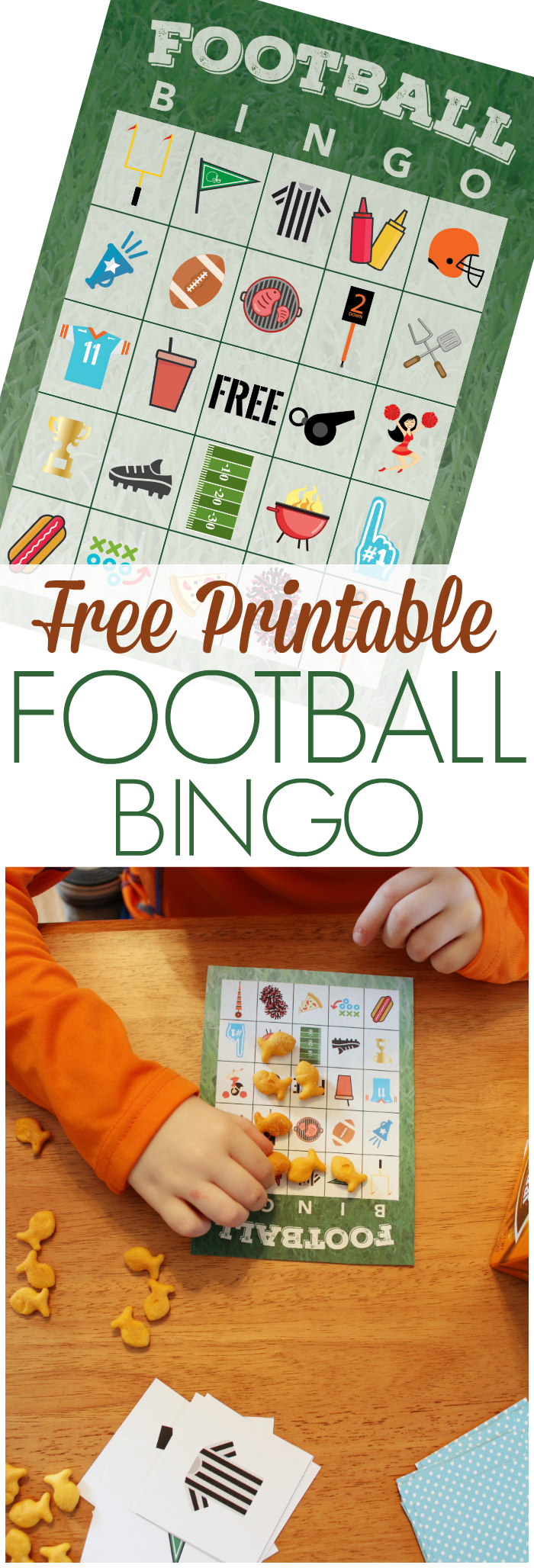 free printable football bingo game the shirley journey